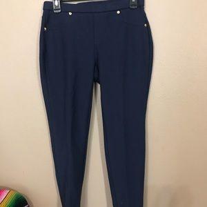 Michael Kors blue leggings